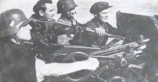 Венгры во время обороны Унгвара. Сентябрь 1944 г.