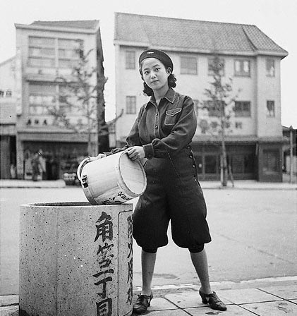 Женщины противовоздушной обороны Токио. 1941 г.