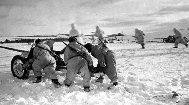 Бой за город. Декабрь 1941 г.