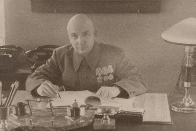 Голышев В.А. председатель комитета обороны г. Астрахани. 1943 г.