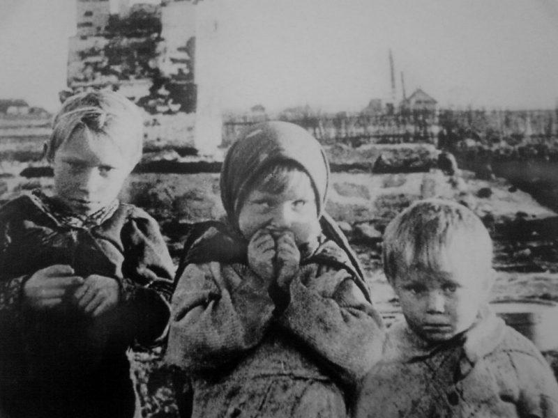 Дети Архангельска. 1942 г.
