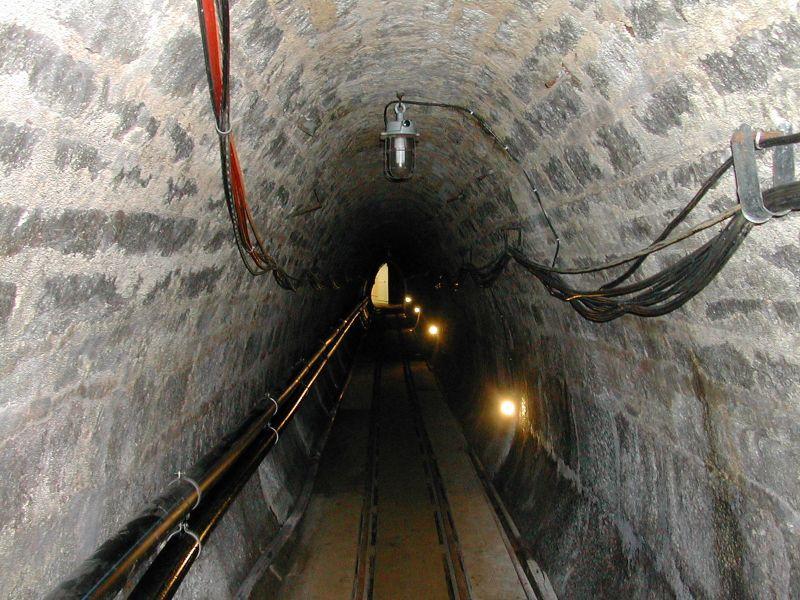 Туннель в соляной шахте Альтаусзее.