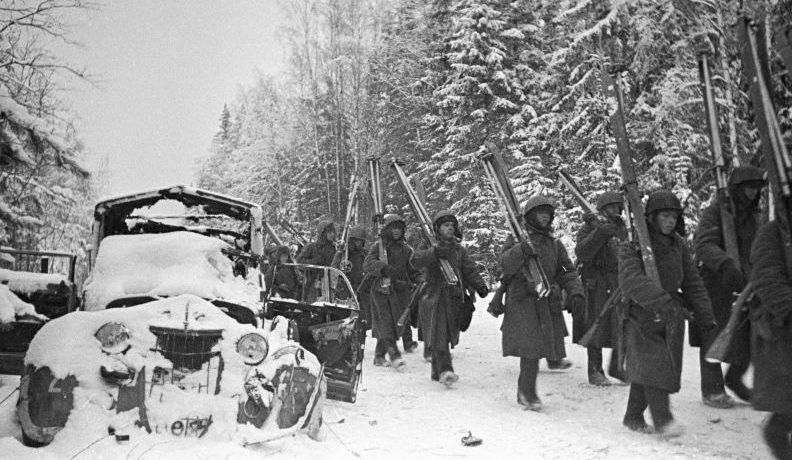 Марш-бросок под Тихвином. Декабрь 1941 г.