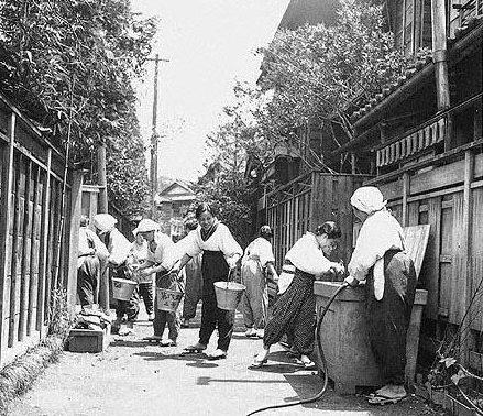 Сбор продуктовых отходов. 1941 г.