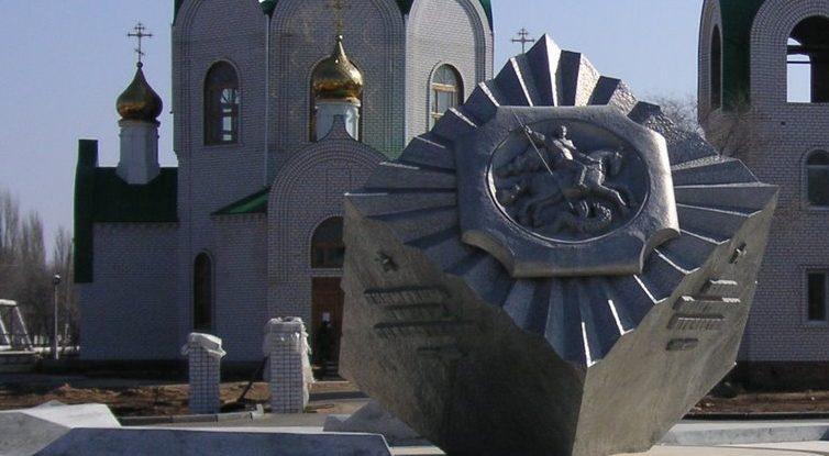 Главный фрагмент памятника Победы.