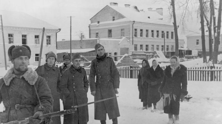 Пленные немцы. Декабрь 1941 г.