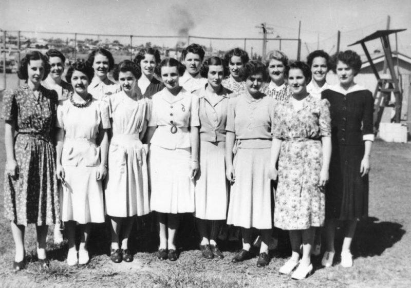 Новобранцы WRANS. Квинсленд, октябрь 1942 г.