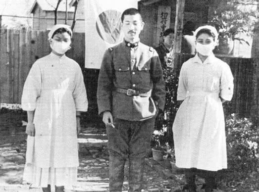 Медсестры на фронте. 1942 г.