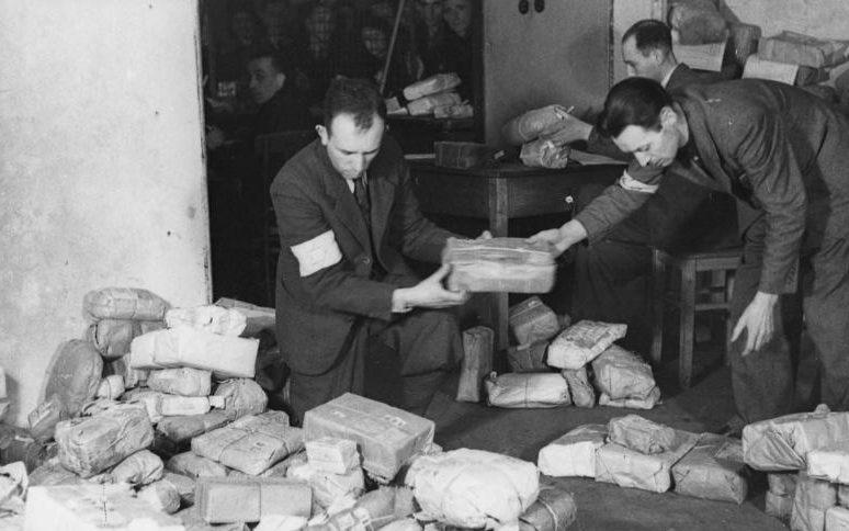 Отделение почтовой связи. Май 1941 г.