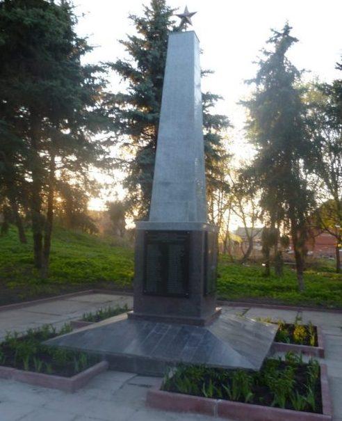 с. Бредихино 1-е Чернского р-на. Обелиск, установленный в 1966 году советским воинам, погибшим в годы войны.