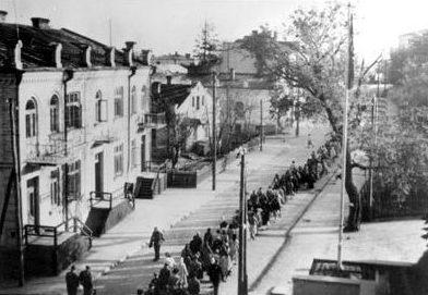 Луцкое гетто. 1942 г.