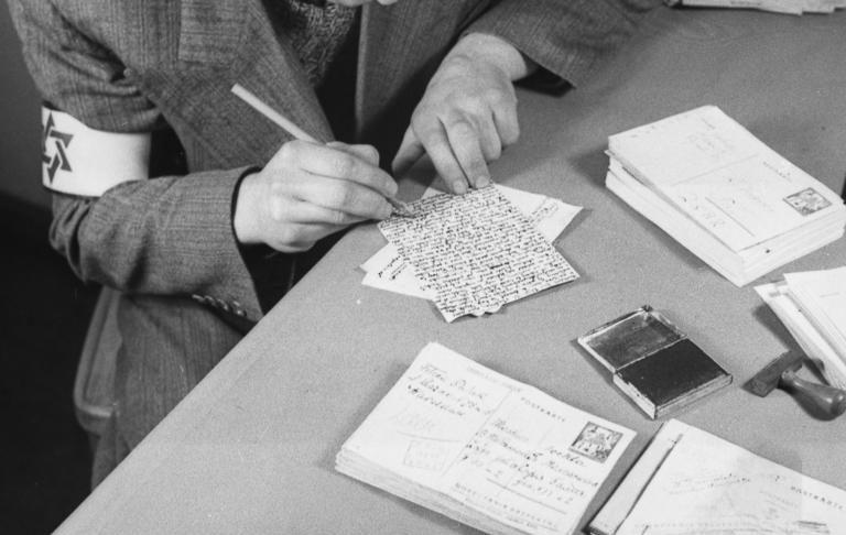 Офис цензуры в гетто. Май 1941 г.