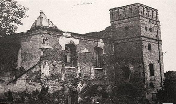 Взорванная Большая синагога. 1942 г.