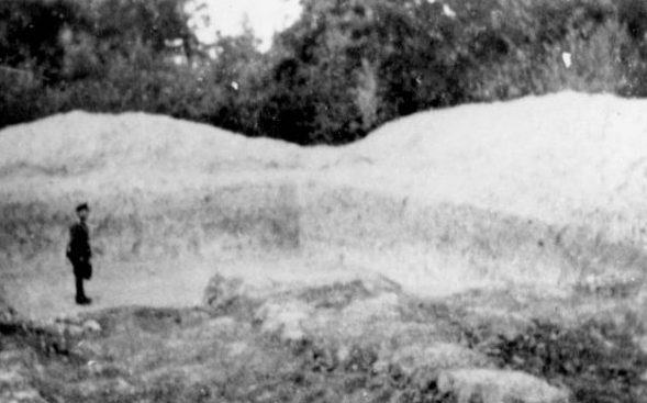 Места массового расстрела евреев. 1942 г.