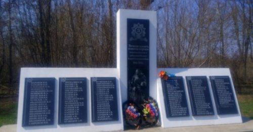 д. Кытино Ефремовского городского округа. Памятник, погибшим односельчанам.