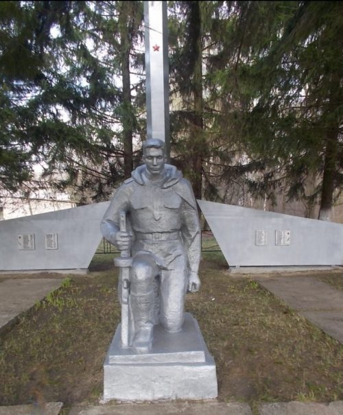 д. Мордовка Ефремовского городского округа. Памятник, установленный на братской могиле советских воинов, погибших в годы войны.