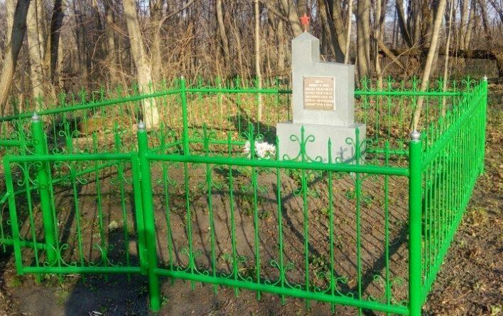 д. Поддолгое Ефремовского городского округа. Памятник жертвам фашизма.