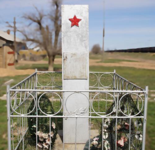 с. Сокрутовка Ахтубинского р-на. Братская могила советских воинов, погибших в годы войны.