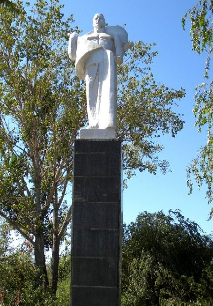 г. Камызяк. Памятник Воинской Славы.