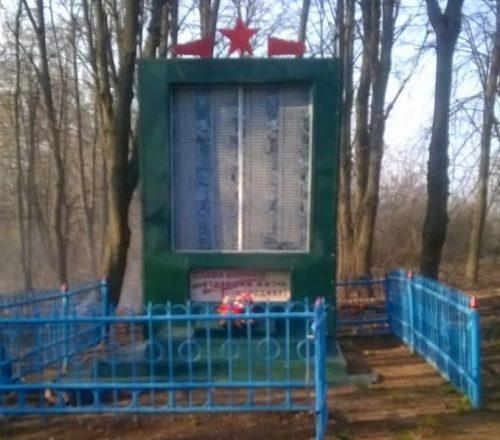 с. Яндовка Ефремовского городского округа. Памятник, установленный на братской могиле советских воинов, погибших в годы войны.