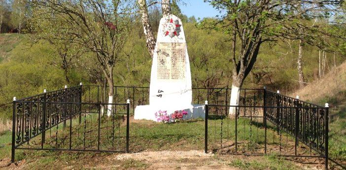 с. Бехово Заокского р-на. Памятник погибшим землякам.