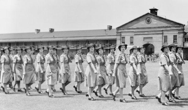 Служащие AWAS в Сиднее. 1945 г.
