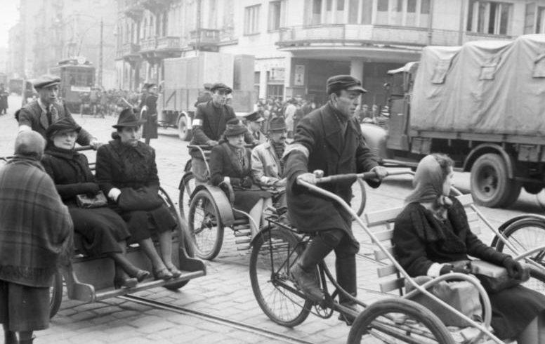 Гетто. Улица Железна. Июнь 1941 г.