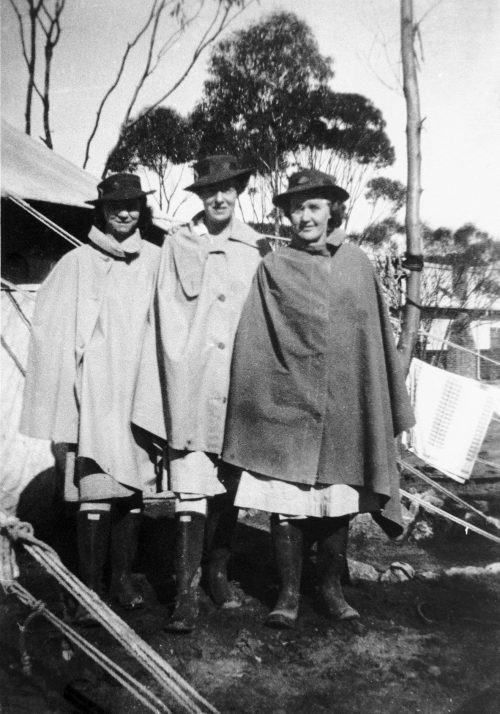Медики из AAMWS в Мерредине. 1943 г.