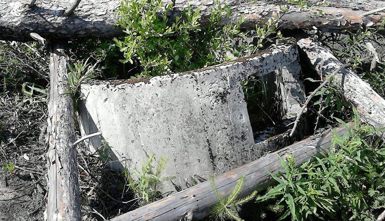 Заброшенный ЖБОТ в Выксунском районе.