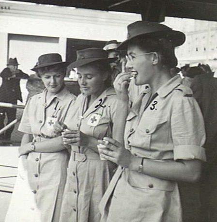 Персонал AAMWS. Ньюкасл, март 1945 г.