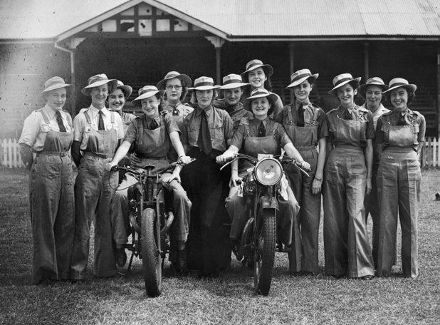 Члены WNEL .Квинсленд, 1942 г.