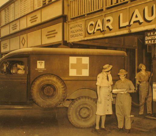 Водители скорой помощи WNEL. 1943 г.
