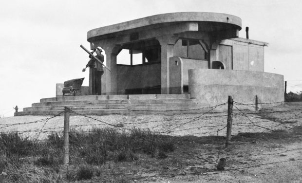 Наблюдательный пост VAOC. 1941 г.