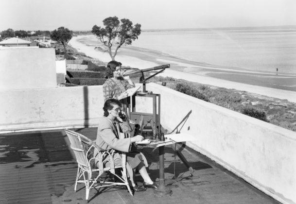 Наблюдательный пункт VAOC. Виктория, 1943 г.