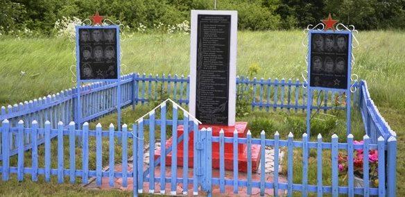 д. Юрьевка Щекинского р-на. Памятник погибшим землякам, установленный в 2008 году.