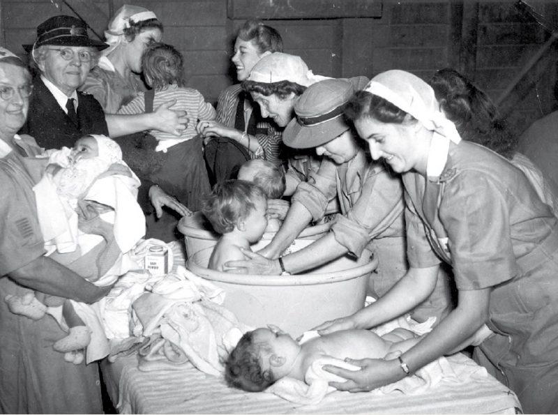 Помощь детским домам. 1944 г.
