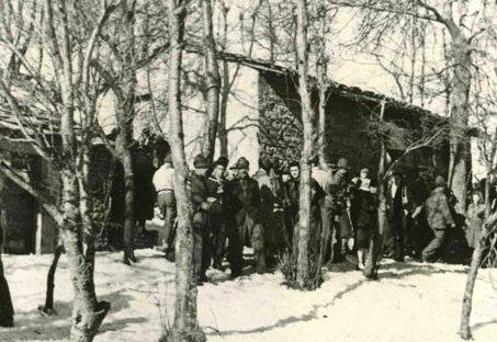 Партизаны дивизии «Osoppo».