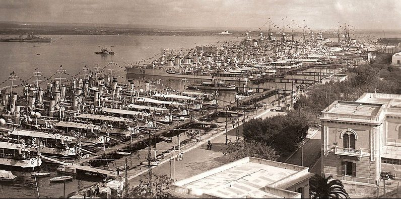 Военно-морская база Таранто.