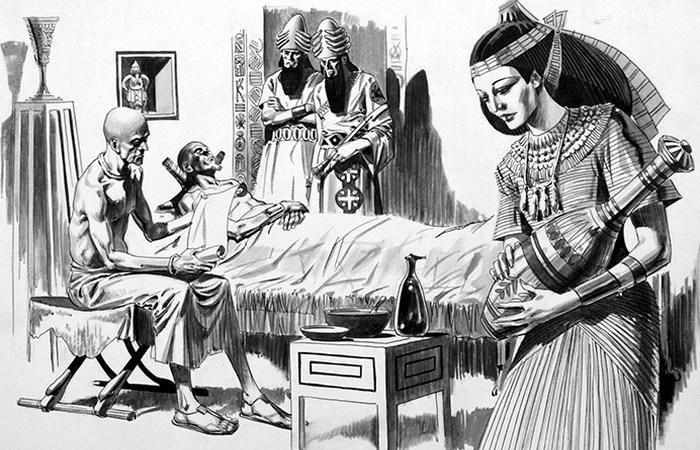 Лечение в Древнем Египте.