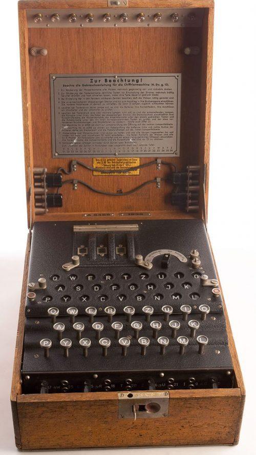 Шифровальная машина «Энигма».