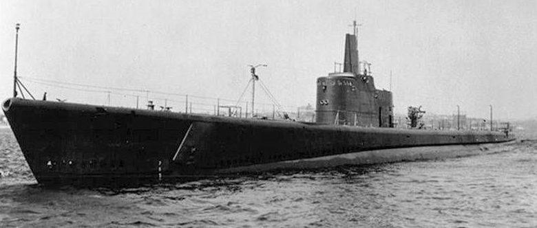 Подлодка USS Grunion.