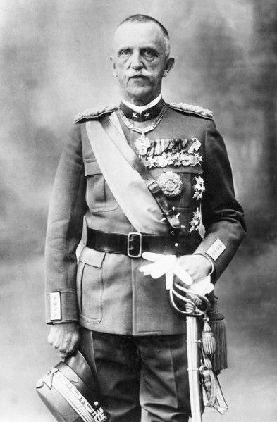 Король Италии - Виктор Эммануил III.