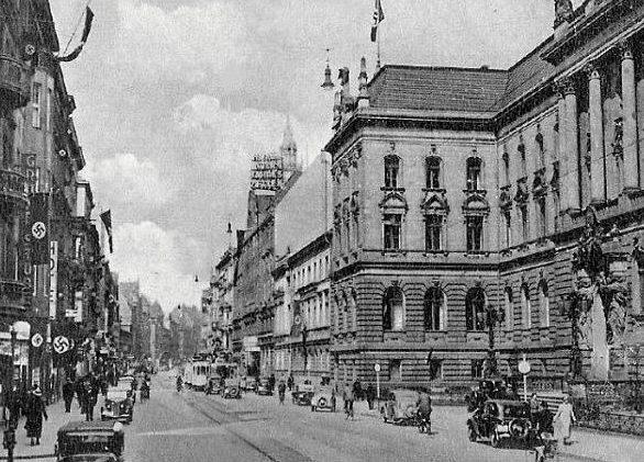 Улицы Бреслау. 1940 г.