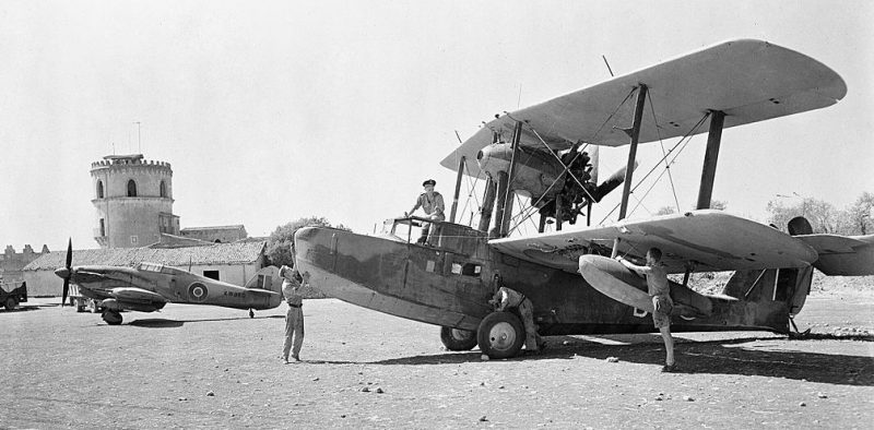 Британские ВВС на юге Италии.