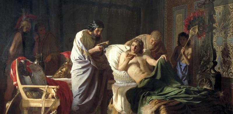 Один из «эффективных» методов лечения в средневековье – лечение молитвой.