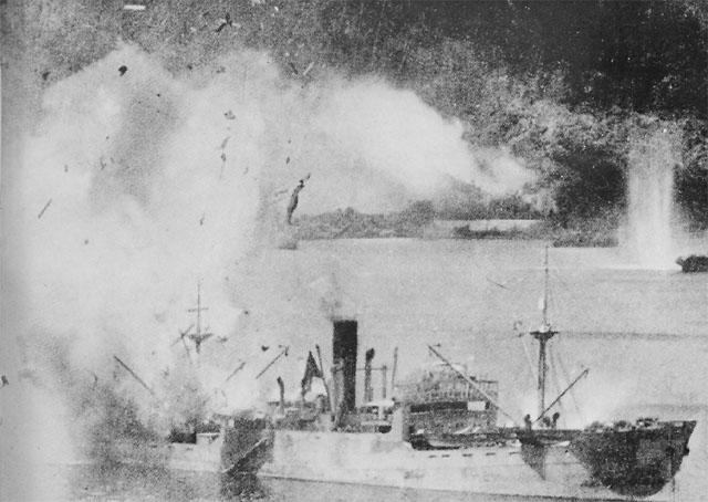 Атака на Рабаул.