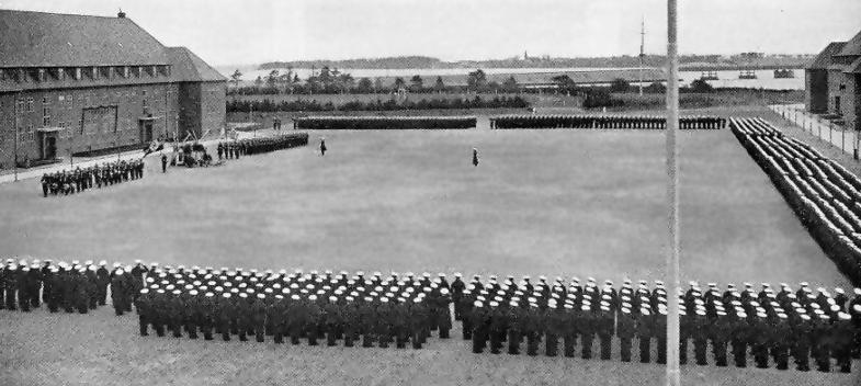 Приведение к присяге новобранцев. Штральзунд, 1938 г.
