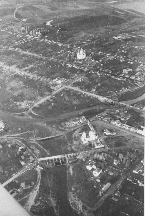 Город с высоты. 1941 г.