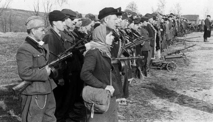 Брянские партизаны.