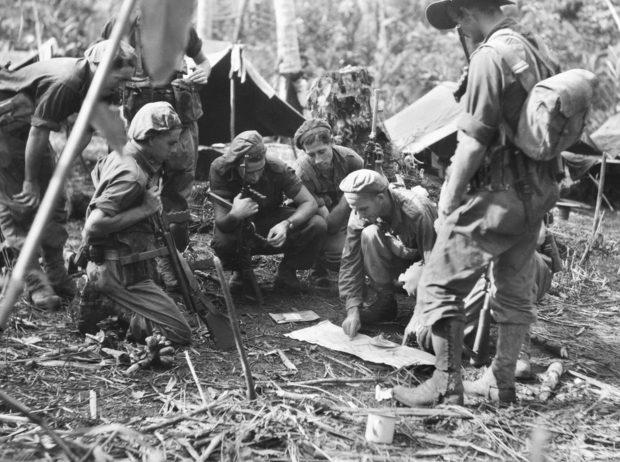 Австралийские войска на острове.
